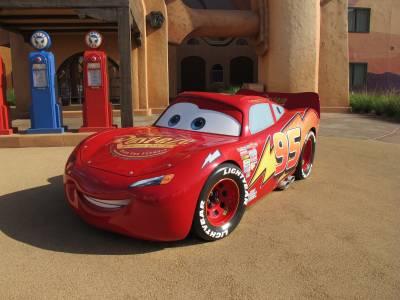 Photo illustrating Art of Animation - Lightning McQueen