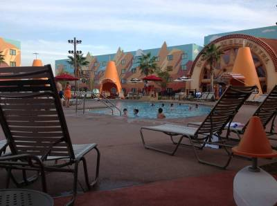 Cozy Cone Pool - Art of Animation Resort