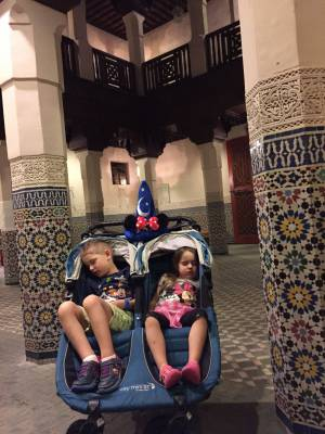 How Using a Stroller Saved Our Disney Vacation