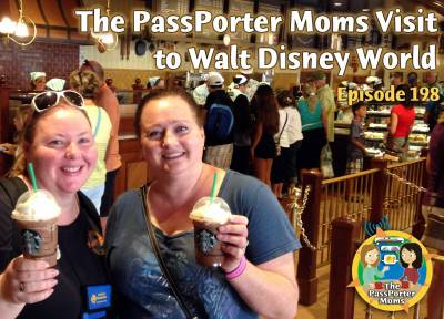 Photo illustrating <font size=1>PassPorter Moms Visit to Walt Disney World