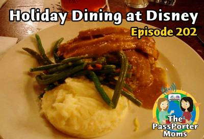Photo illustrating Holiday Dining at Disney