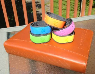 Photo illustrating Colorful MagicBands
