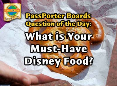 Photo illustrating What is Your Must-Have Disney Food?