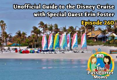 Photo illustrating Unofficial Guide to the Disney Cruise Line with Erin Foster