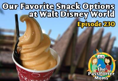 Photo illustrating Our Favorite Snack Options at Walt DIsney World