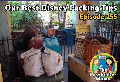 Photo illustrating Packing Tips Podcast
