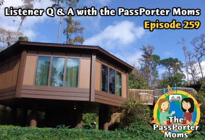Photo illustrating Listener Q and A with the PassPorter Moms