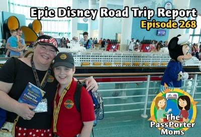 Photo illustrating Epic Disney Road Trip - Podcast 268