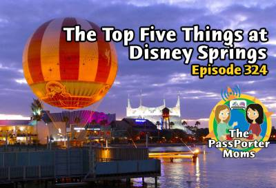 Photo illustrating The Top Five Things at Disney Springs