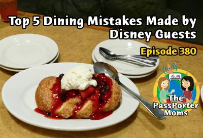 Photo illustrating Top 5 Mistakes Guests Make Dining at Disney