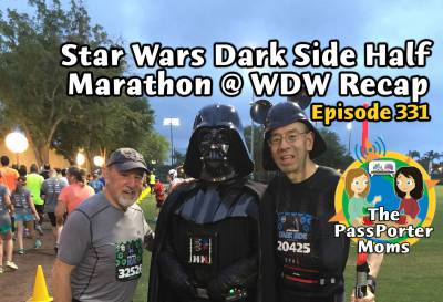 Photo illustrating Star Wars Dark Side Half Marathon Recap