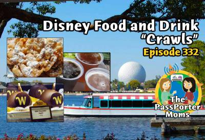 Photo illustrating Disney Food and Drink Crawls