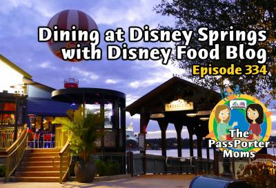 Photo illustrating Dining at Disney Springs with the Disney Food Blog