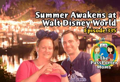 Photo illustrating Summer Awakens at Walt Disney World