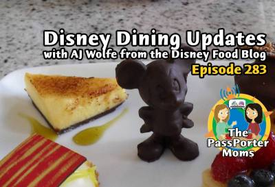 Photo illustrating Disney Dining Update