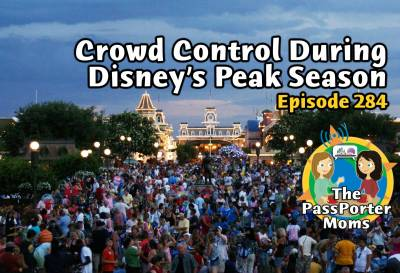 Photo illustrating Crowd Control During the Disney Peak Season