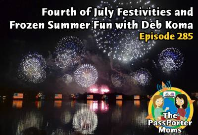 Photo illustrating Frozen Summer Fun and Fourth of July with Deb Koma