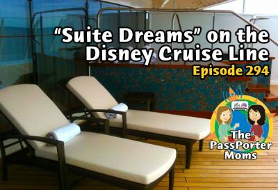 Photo illustrating Suite Dreams on the Disney Cruise Line