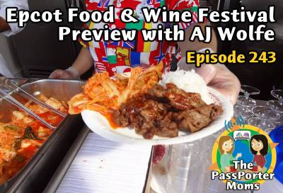 Photo illustrating Epcot Food & Wine Festival Preview Show