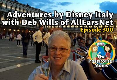 Photo illustrating Adventure by Disney Italy with Deb Wills of AllEarsNet