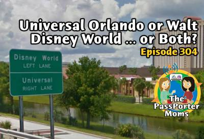 Photo illustrating Universal Orlando or Walt Disney World ... or Both?