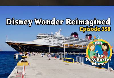 Photo illustrating Disney Wonder Reimagined