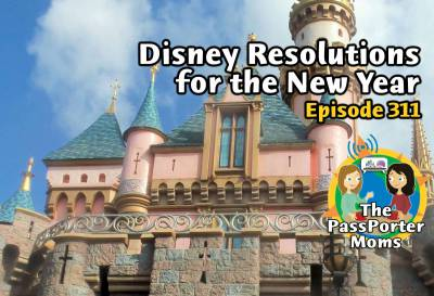 Photo illustrating Disney Resolutions for the New Year