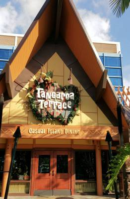 Photo illustrating Disneyland Hotel--Tangaroa Terrace
