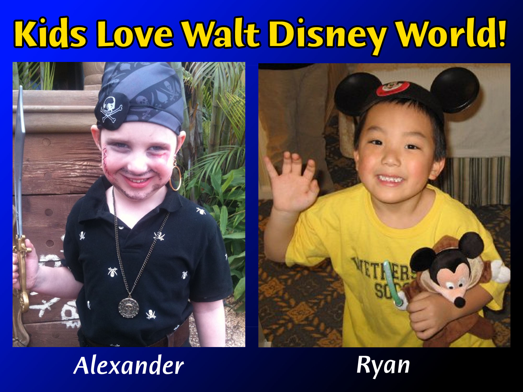 Kids Love Walt Disney World! photo
