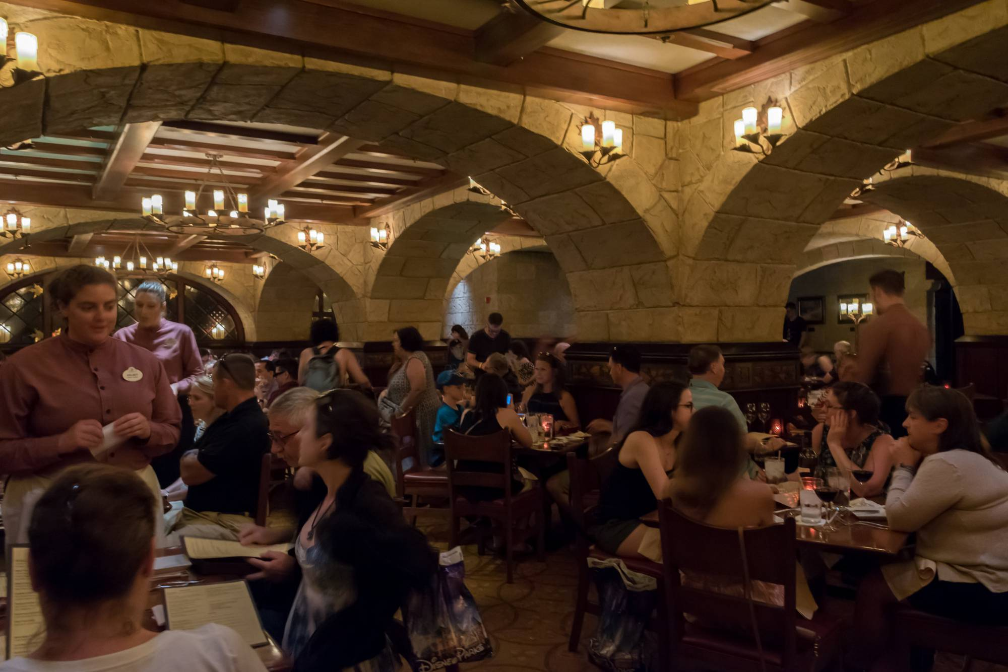 Enjoy a delicious dinner at Le Cellier at Epcot | PassPorter.com