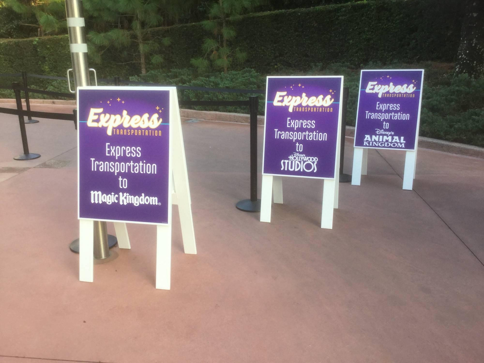 Make the most of the Express Transportation with your Park Hopper Pass | PassPorter.com