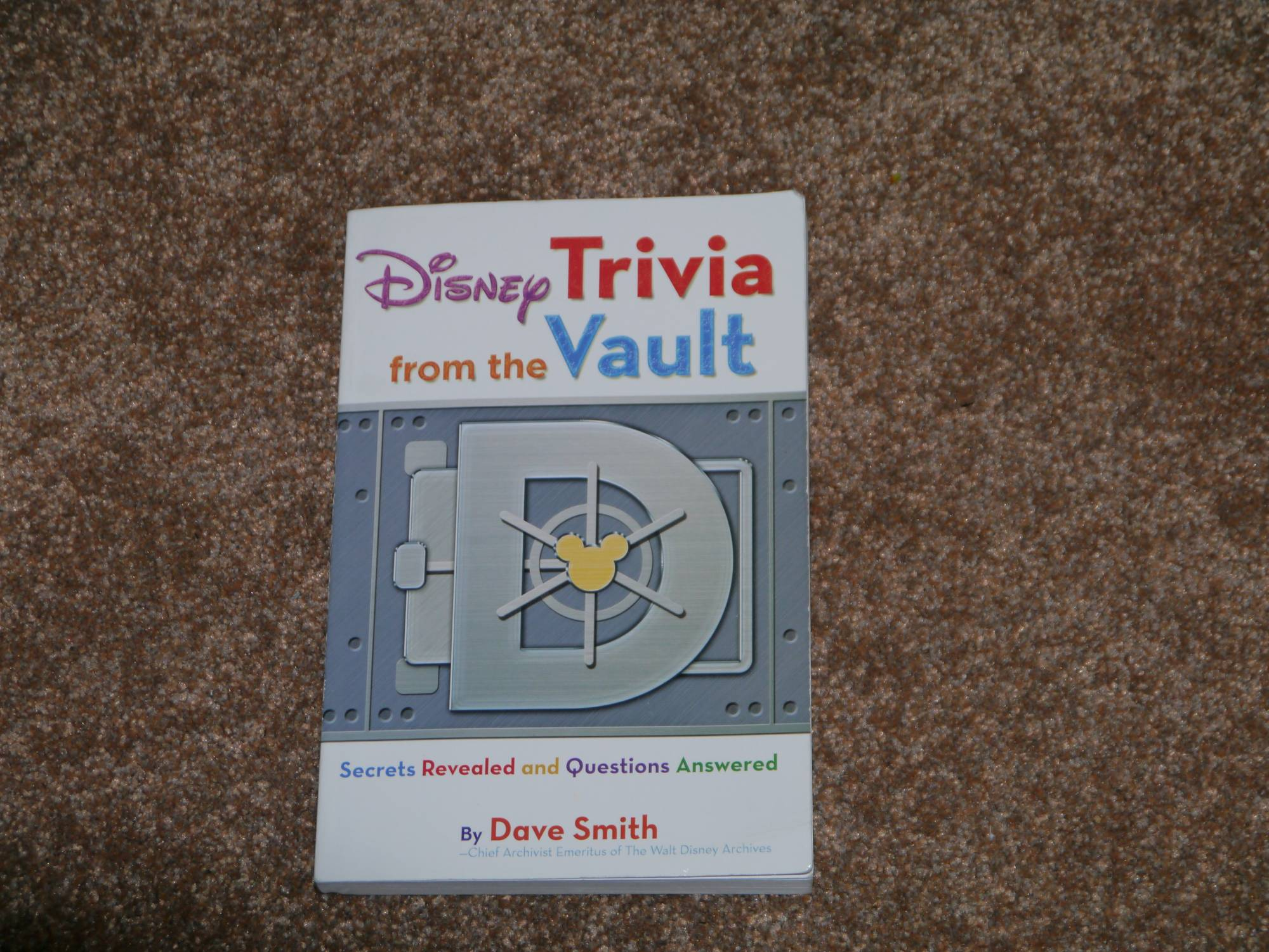 Brush up on your Disney Trivia with this review of 'Disney Trivia from The Vault' by Dave Smith | PassPorter.com