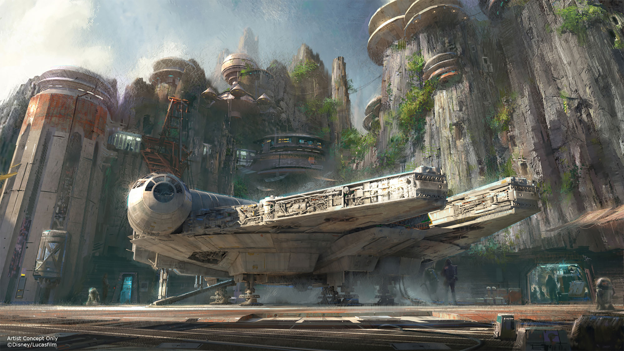 D23 Expo Artist Renderings photo