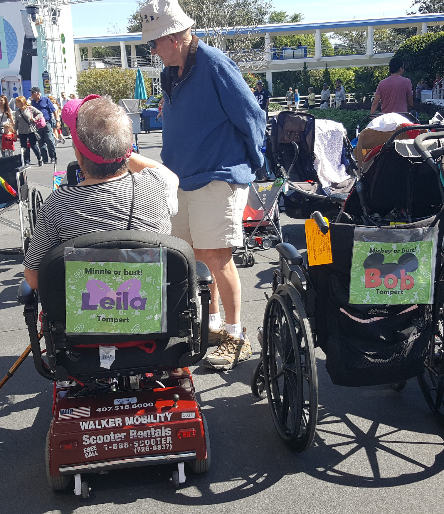 Tips for touring with guests using scooters and wheelchairs | PassPorter.com