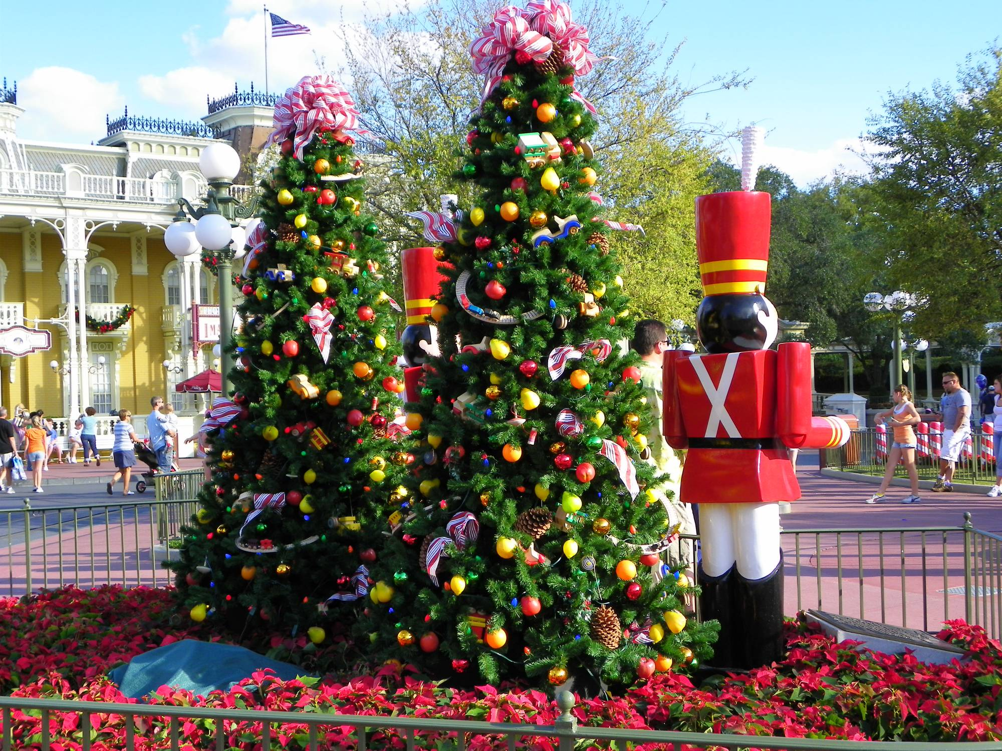 Christmas at the Magic Kingdom photo