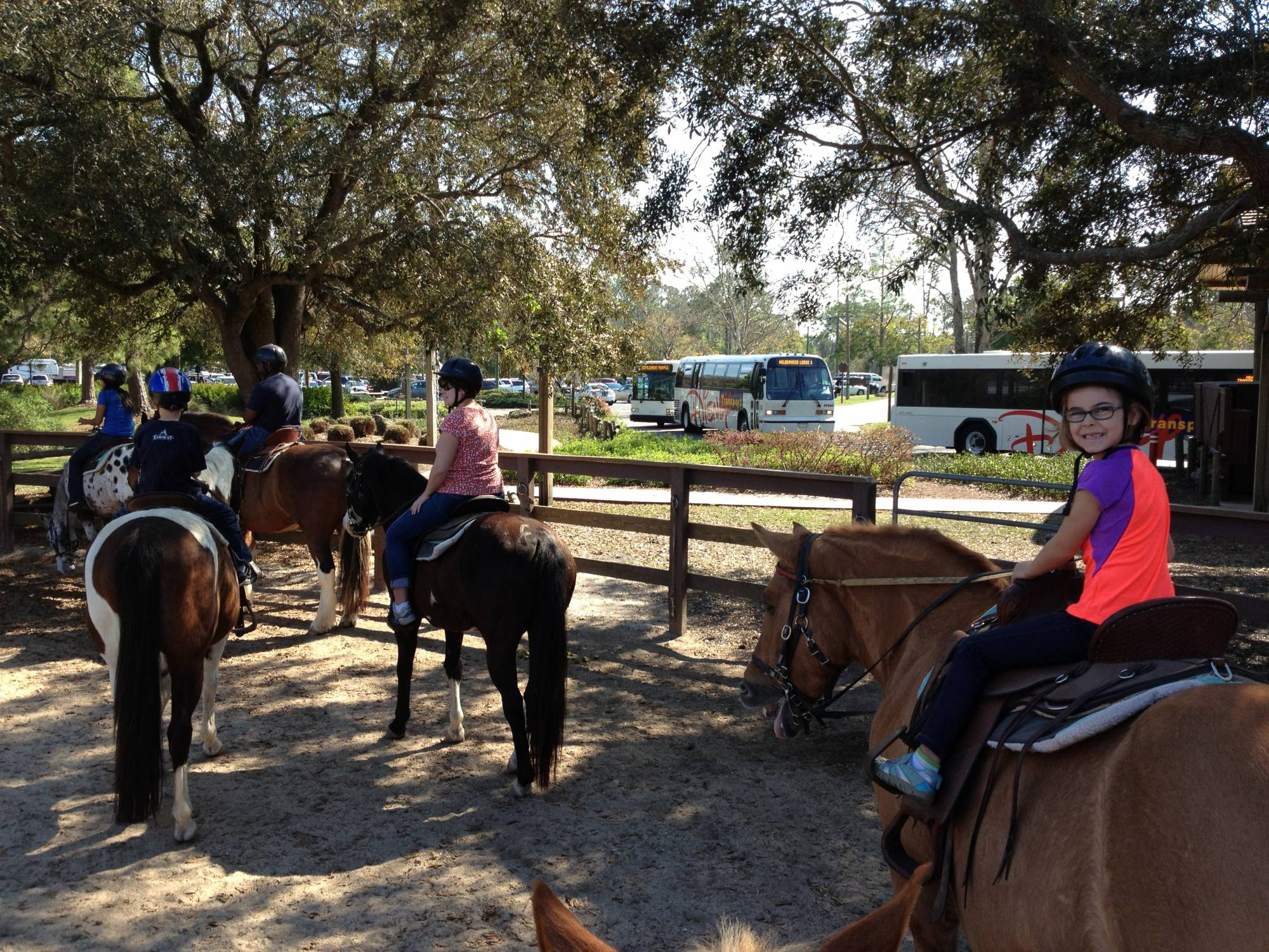 Explore Fort Wilderness from Horse-back with a Trail Ride | PassPorter.com