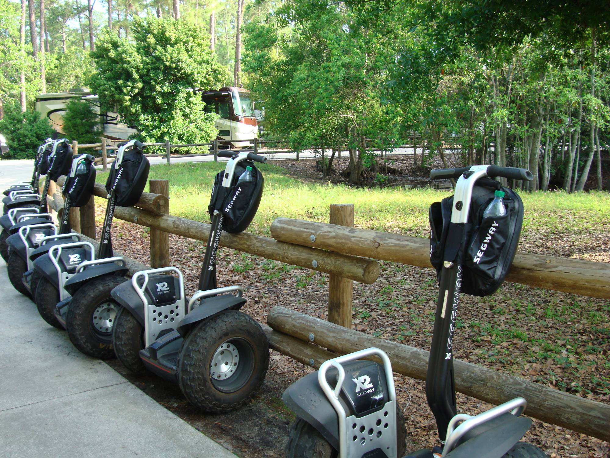 Explore Fort Wilderness on a Segway | PassPorter.com