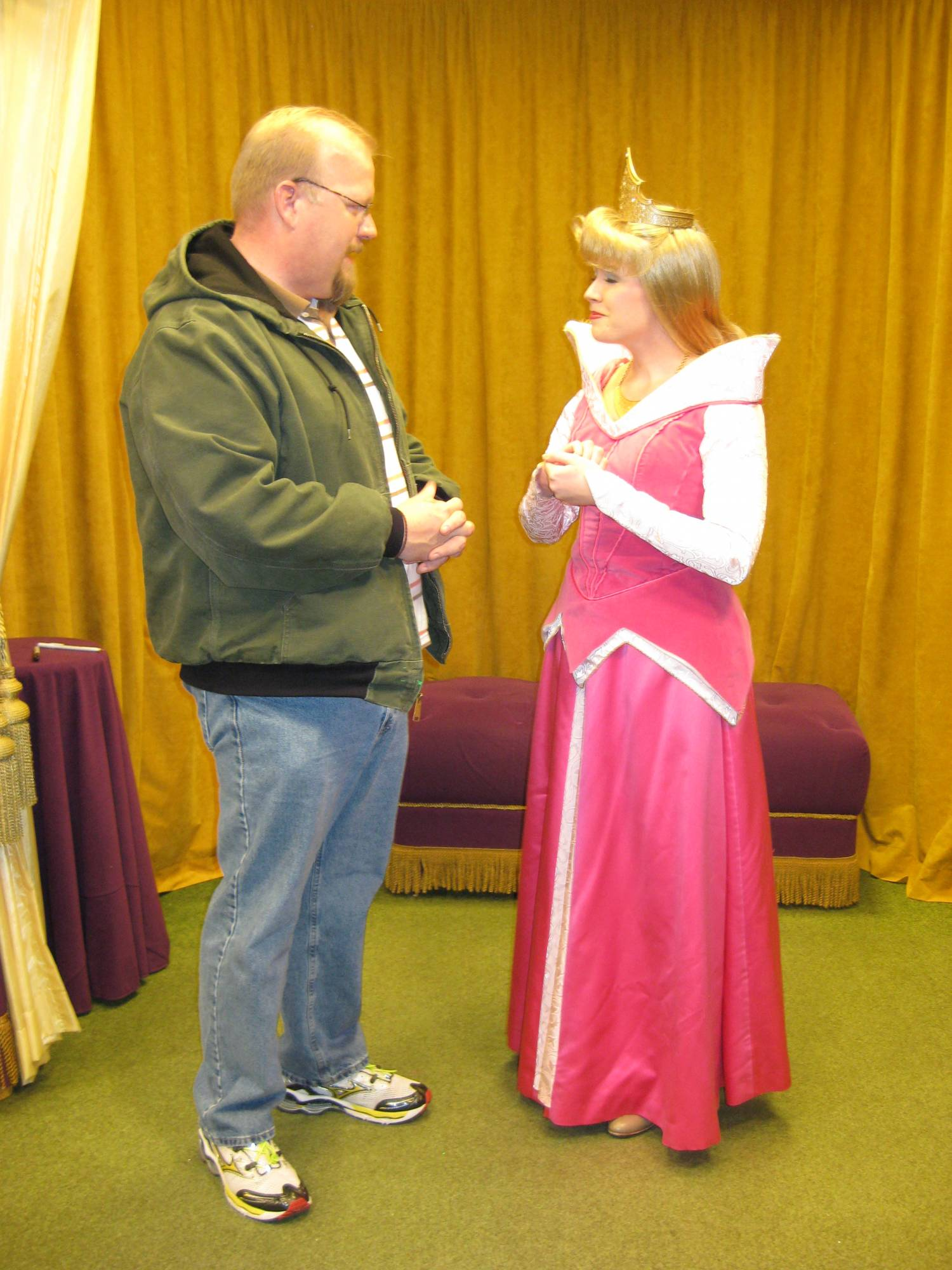 Talking with Princess Aurora photo