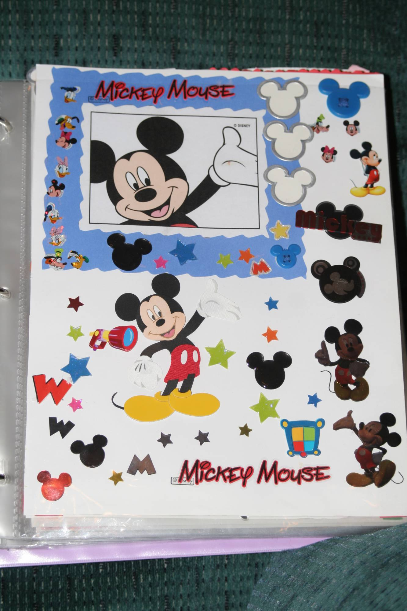 Mickey's Picture Page photo