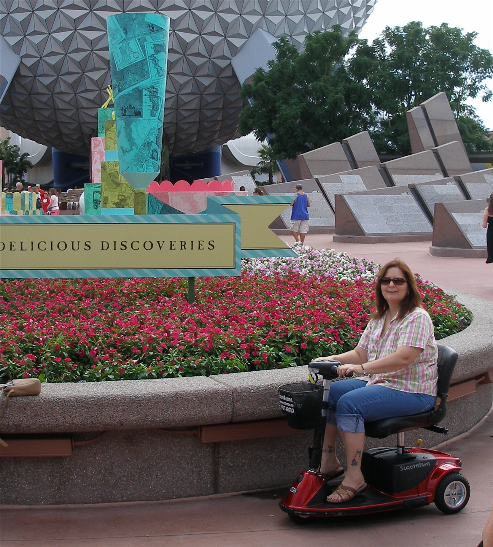 Enjoying Epcot photo