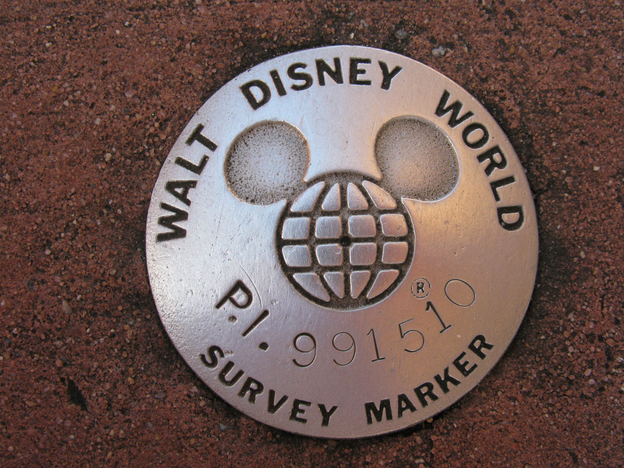 Epcot - Survey Marker photo