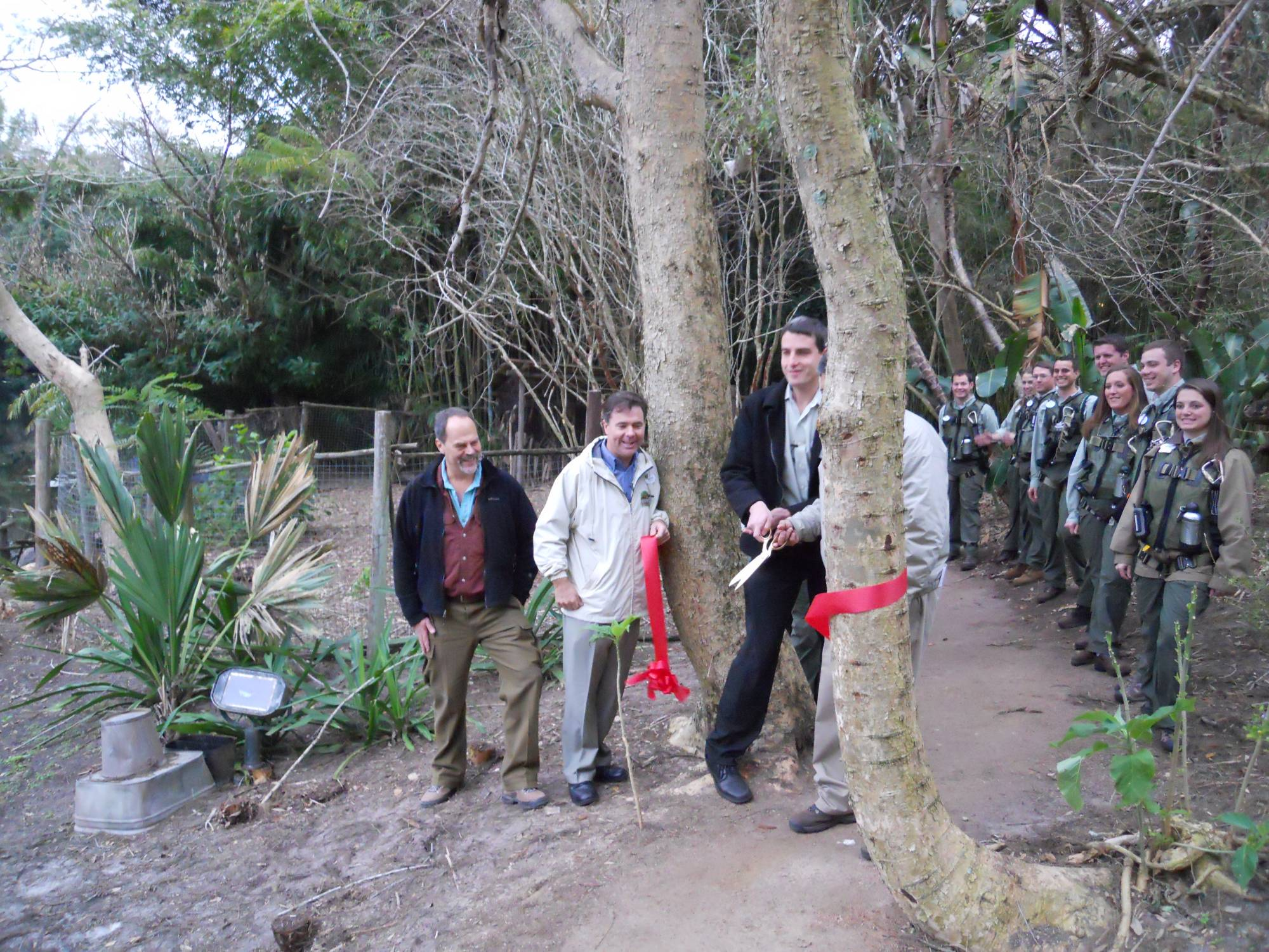 Wild Animal Trek Ribbon Cutting Ceremony photo