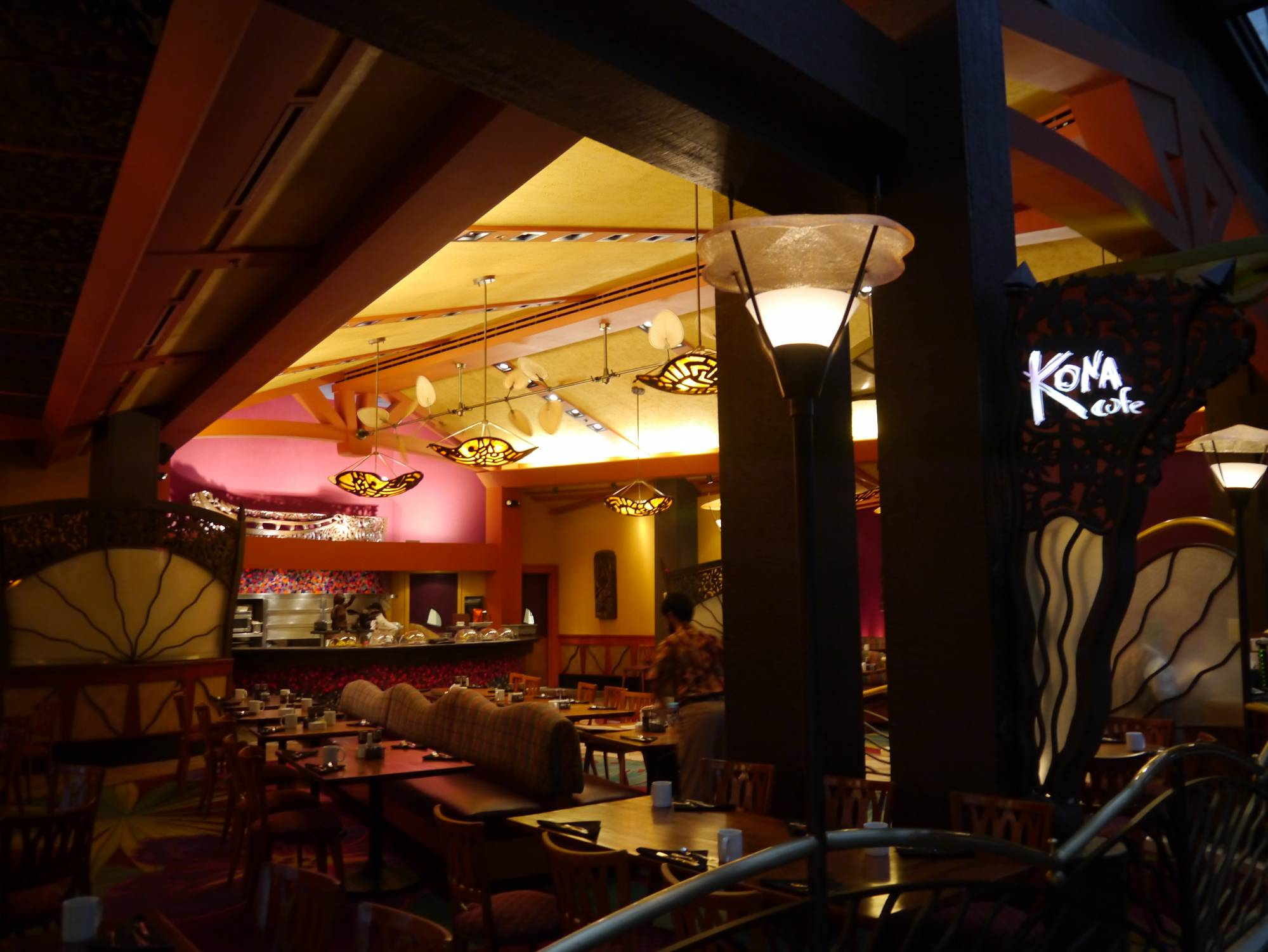 Enjoy dinner at the Kona Cafe at Disney's Polynesian Village Resort |PassPorter.com