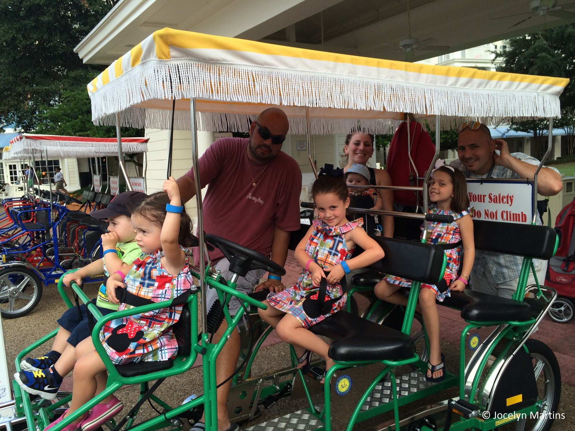 Renting Surrey Bikes At Disney S Boardwalk