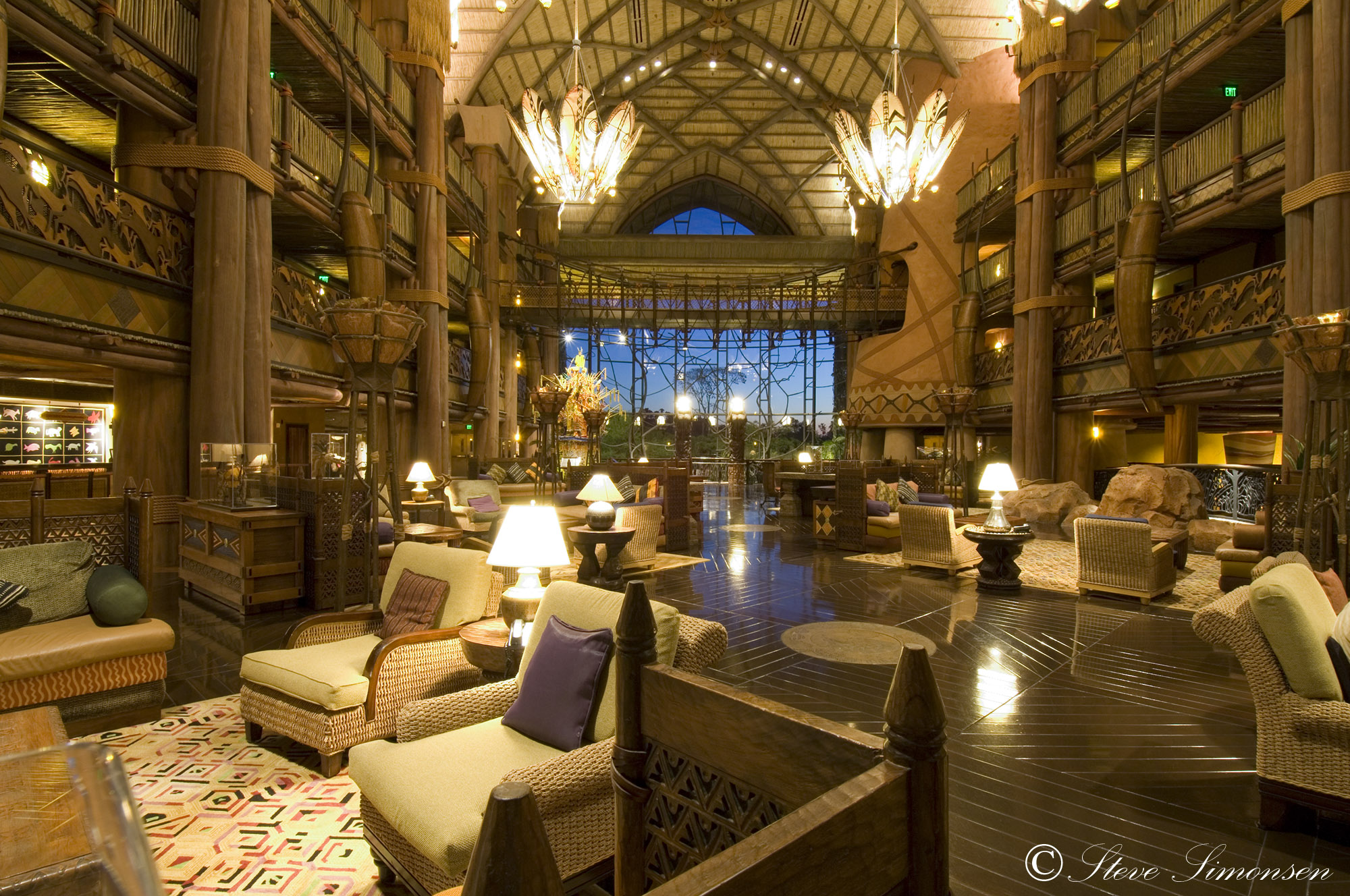 Animal Kingdom Lodge - Lobby photo
