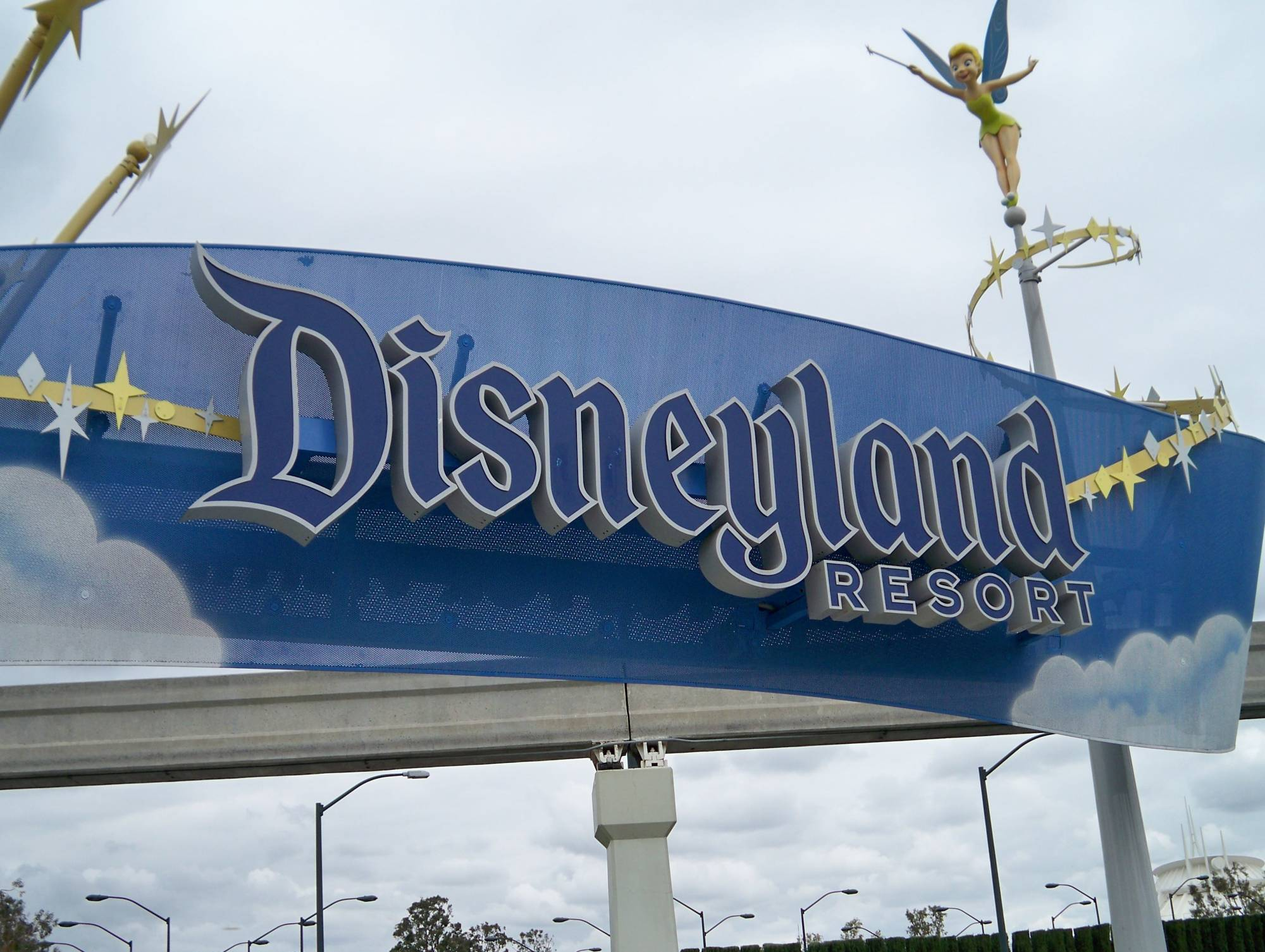 Disneyland pedestrian entrance - Harbor Blvd. photo