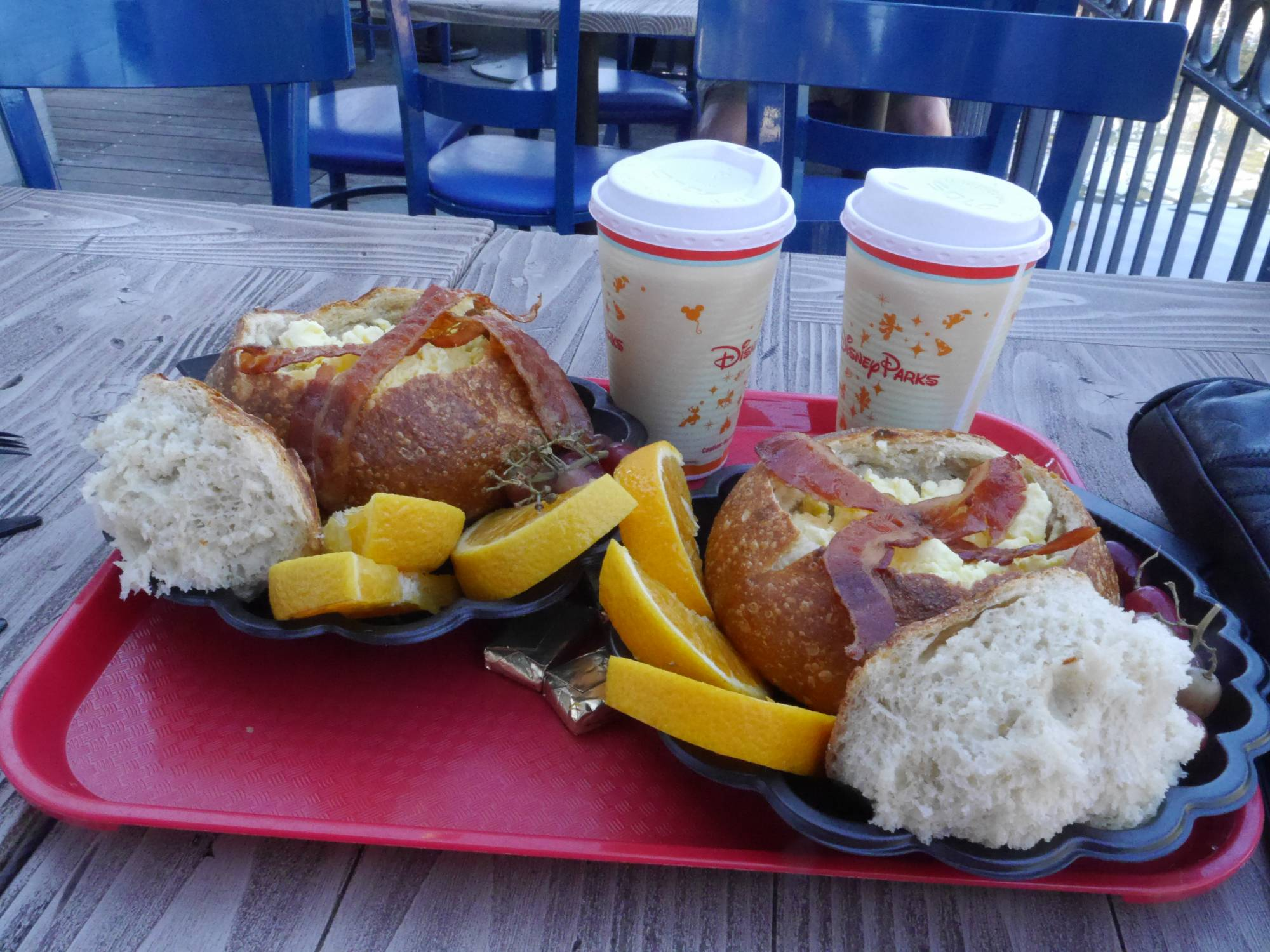 Enjoy delicious breakfast options at both Walt Disney World and Disneyland |PassPorter.com