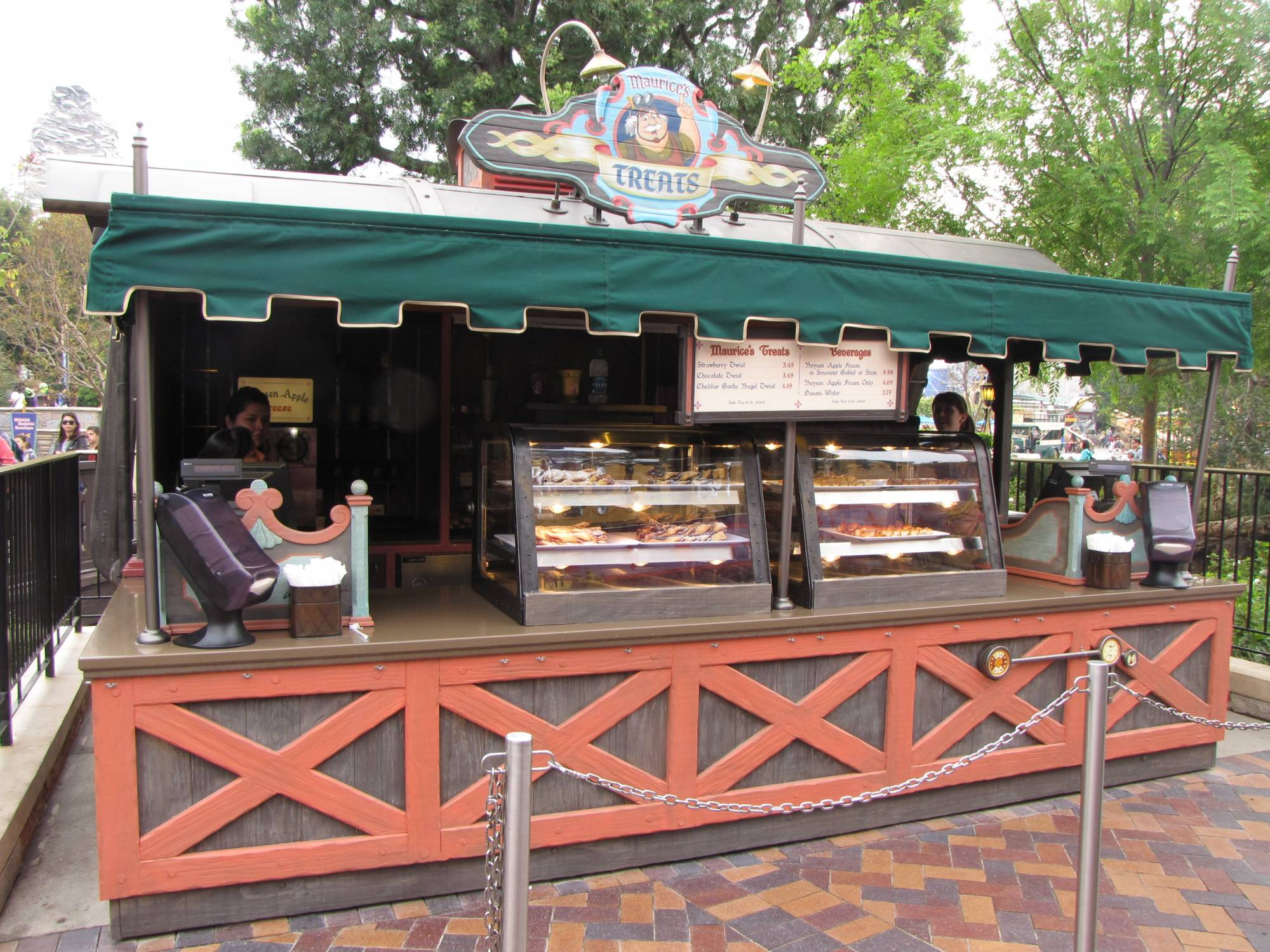 Explore snacks with a twist at Maurice's Treat at Disneyland |PassPorter.com