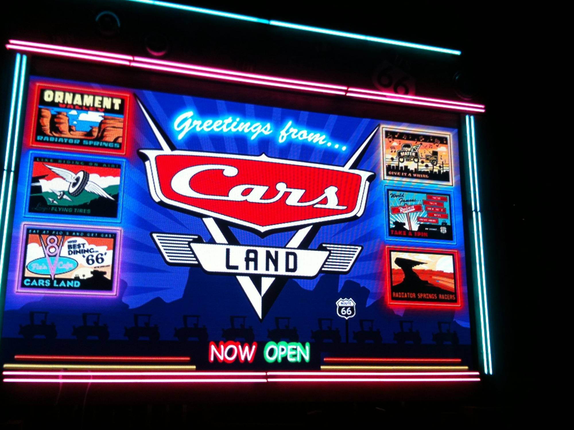 Explore the new offerings at Disney California Adventure in Cars Land |PassPorter.com
