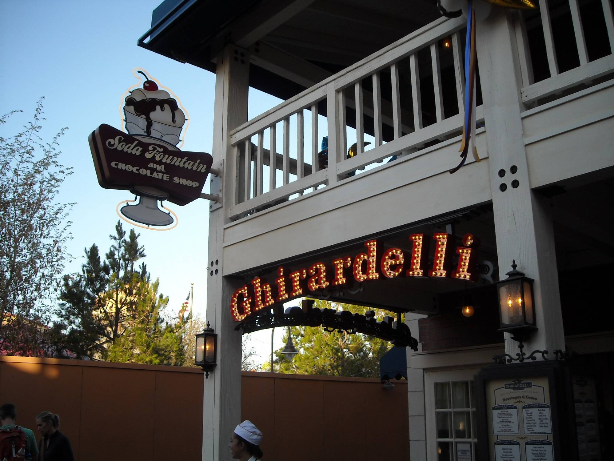 Indulge in a chocolate treat from the Ghirardelli Factory Store at Disney California Adventure |PassPorter.com